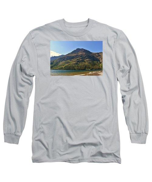 Two Medicine Lake Long Sleeve T-Shirt by Dacia Doroff