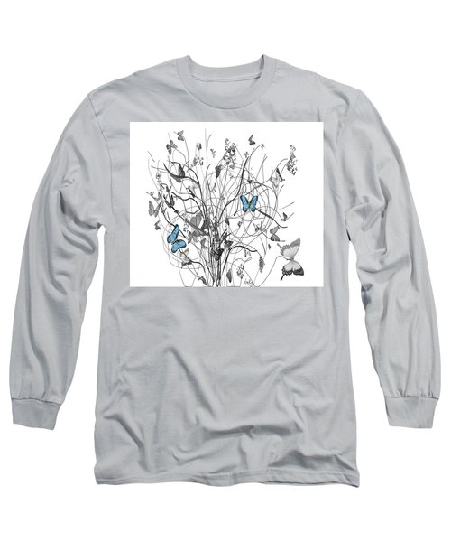 Two Of A Kind  Long Sleeve T-Shirt by Sladjana Lazarevic