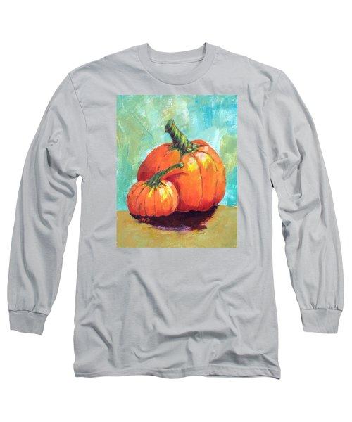 Two Pumpkins  Long Sleeve T-Shirt