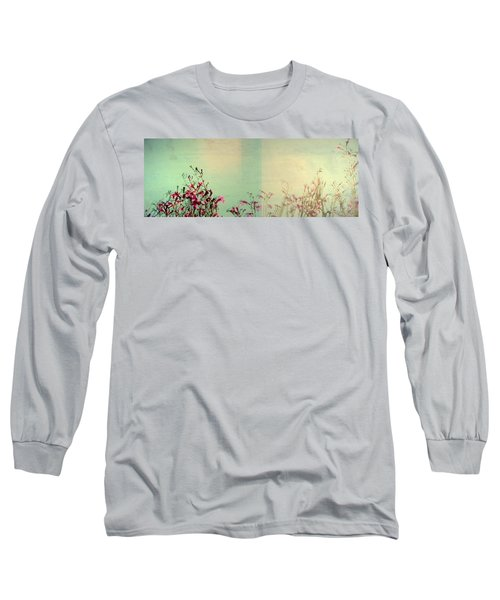 Two Sides Long Sleeve T-Shirt by Mark Ross