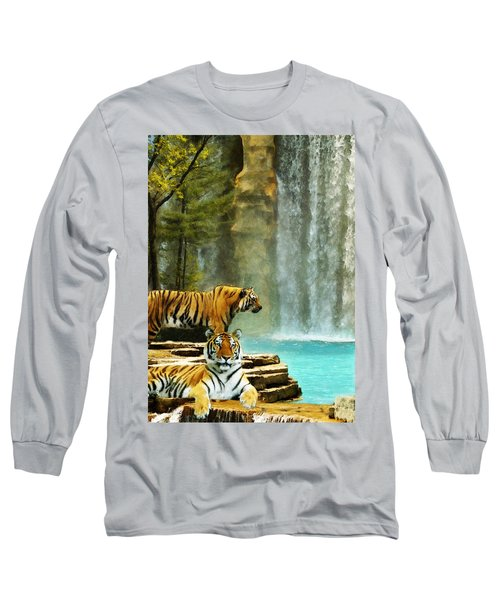 Two Tigers Long Sleeve T-Shirt