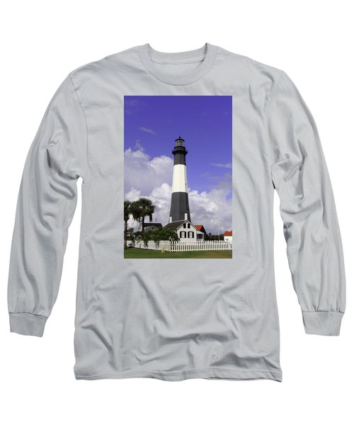 Tybee Island Lighthouse Long Sleeve T-Shirt