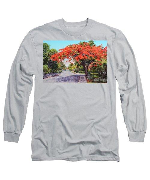 Ubs Poinciana Long Sleeve T-Shirt