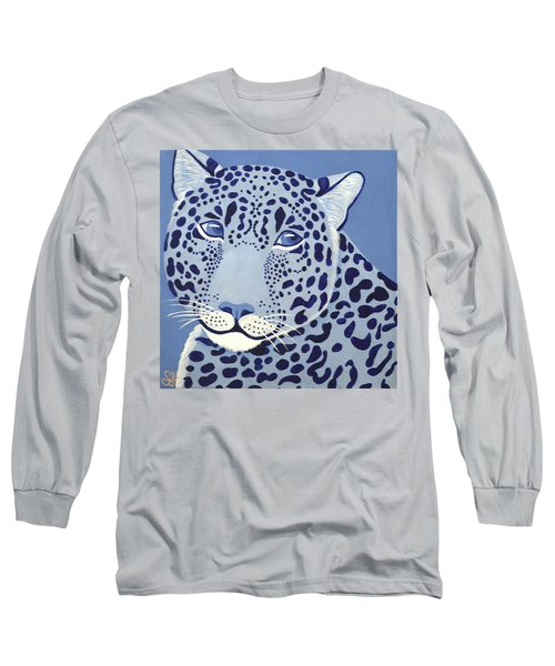 Ultramarine Jaguar Long Sleeve T-Shirt