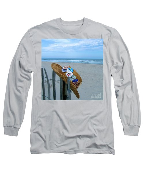 Uncle Carl's Beach Hat Long Sleeve T-Shirt