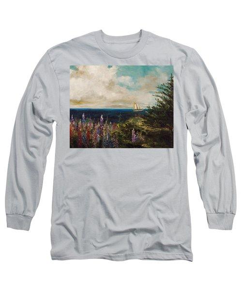 Under Full Sail Long Sleeve T-Shirt