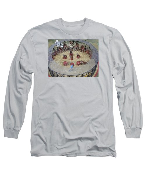 Under The Big Top Long Sleeve T-Shirt by Jewels Blake Hamrick