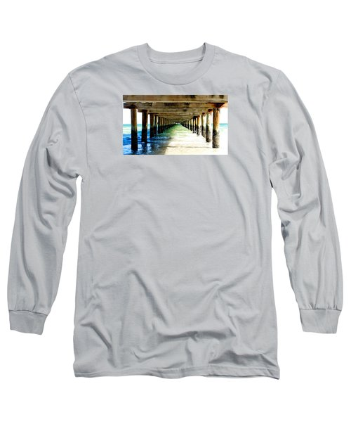Anna Maria Island Pier Excellence In Photography Award 2016 Long Sleeve T-Shirt by Margie Amberge