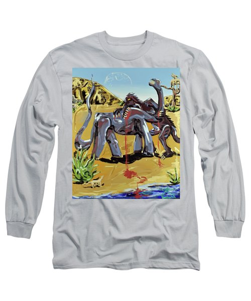 Under The Sun Long Sleeve T-Shirt by Ryan Demaree