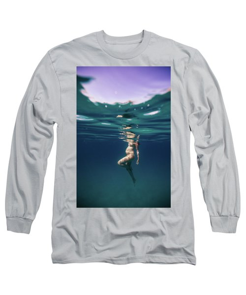 Underwater Pregnant Long Sleeve T-Shirt