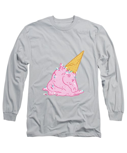 Unicorn Melts Long Sleeve T-Shirt