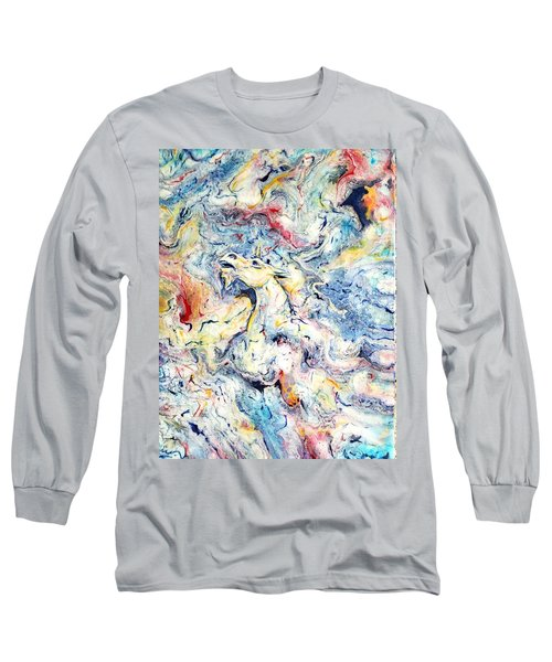Unicorns And Rainbows  Long Sleeve T-Shirt