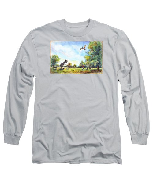 Uninvited Picnic Guests Long Sleeve T-Shirt
