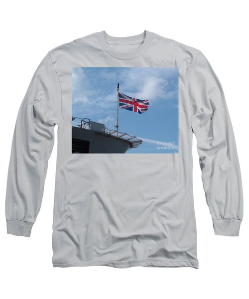 Union Jack Long Sleeve T-Shirt by Richard Brookes