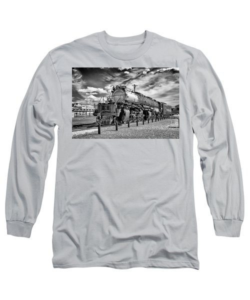 Long Sleeve T-Shirt featuring the photograph Union Pacific 4-8-8-4 Big Boy by Paul W Faust - Impressions of Light