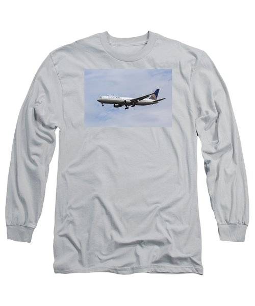 United Airlines Boeing 767 Long Sleeve T-Shirt