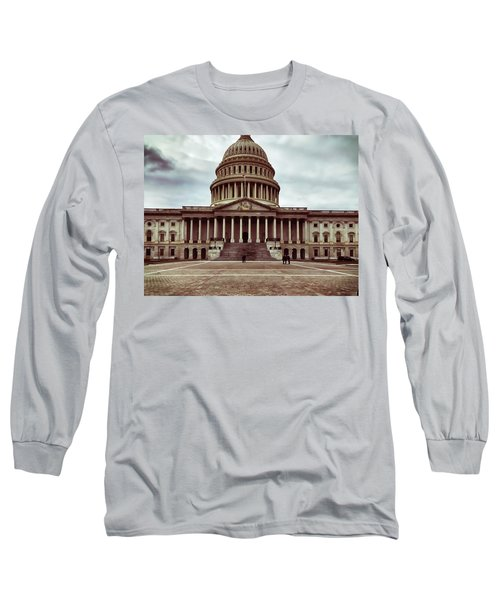 United States Capitol Building Long Sleeve T-Shirt