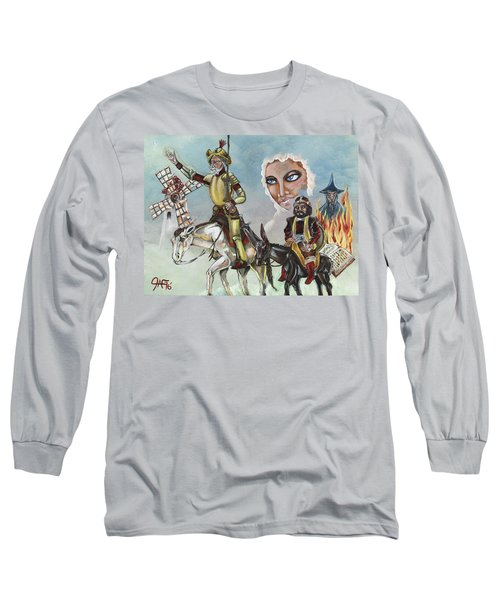 Long Sleeve T-Shirt featuring the painting Unreachable Star by JA George AKA The GYPSY