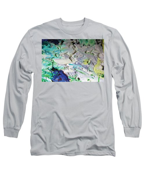 Untitled Abstract With Droplet ## Long Sleeve T-Shirt