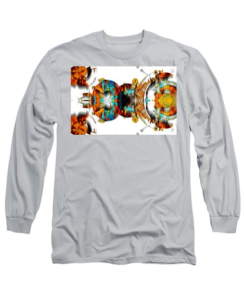 Long Sleeve T-Shirt featuring the digital art Untitled Series 992.042212 -b by Kris Haas