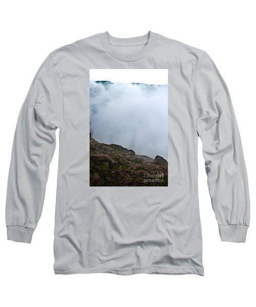Long Sleeve T-Shirt featuring the photograph The Wall Of Water by Dana DiPasquale