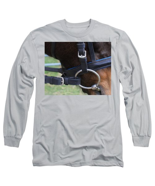 Up Close Bit Long Sleeve T-Shirt by Roena King