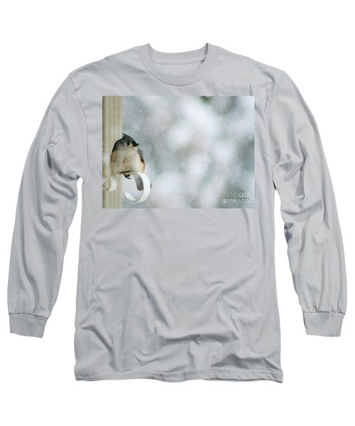 Up Front Long Sleeve T-Shirt by Barbara S Nickerson