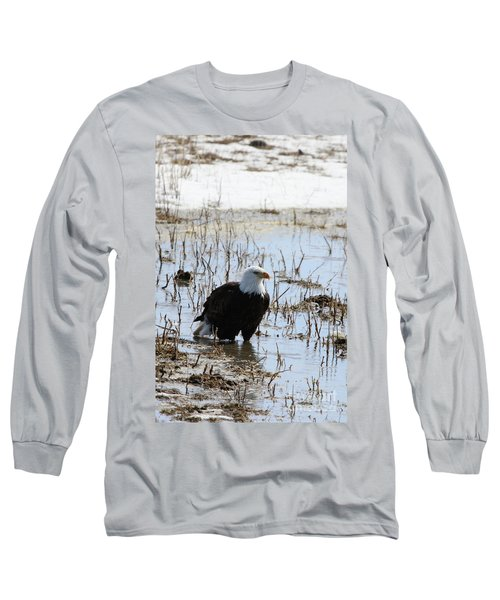 Up To His Knees Long Sleeve T-Shirt