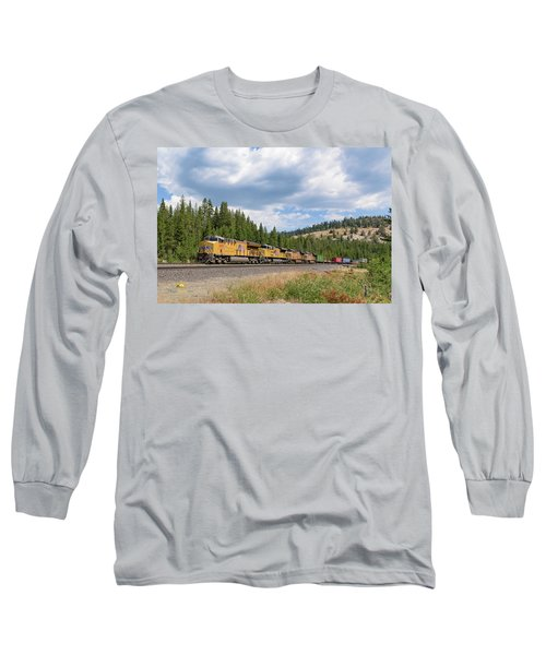 Up2650 Westbound From Donner Pass Long Sleeve T-Shirt