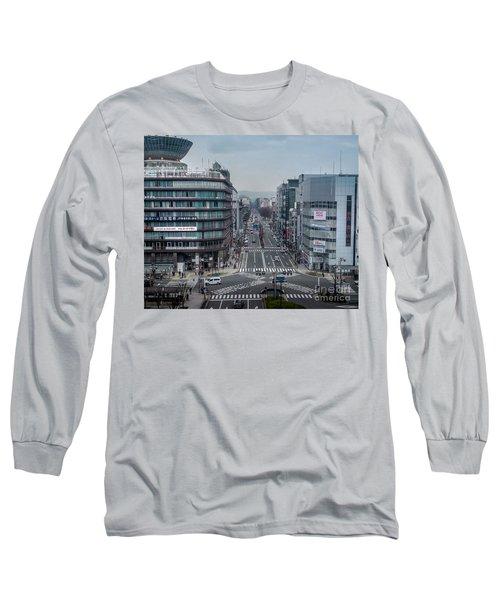 Urban Avenue, Kyoto Japan Long Sleeve T-Shirt