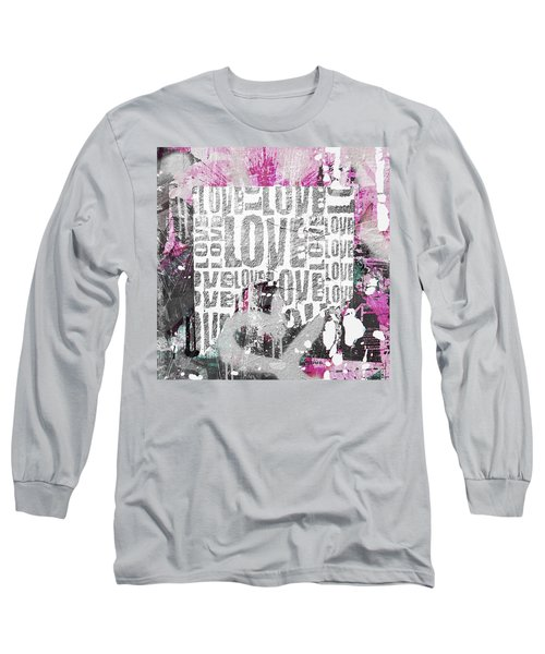 Urban Love Long Sleeve T-Shirt by Roseanne Jones
