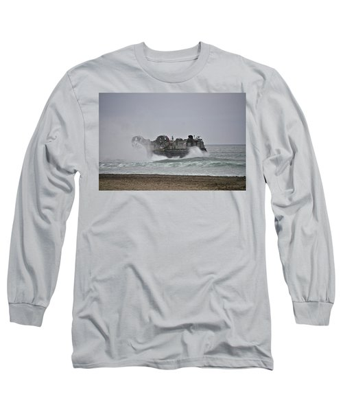 Us Navy Hovercraft Long Sleeve T-Shirt