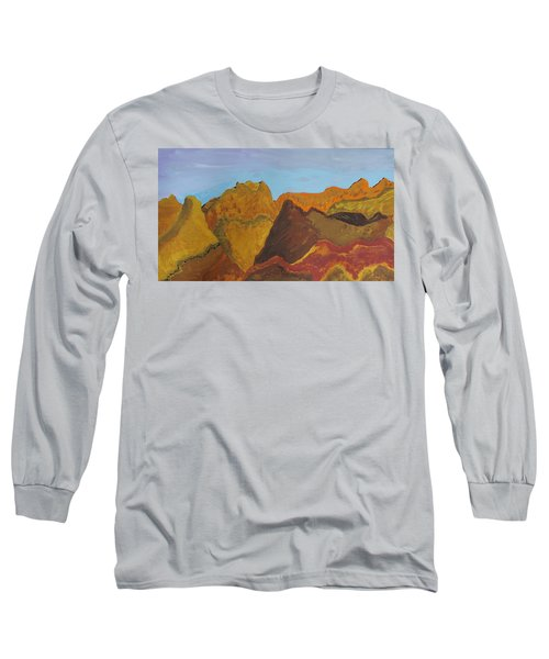 Utah Mountains Long Sleeve T-Shirt by Don Koester