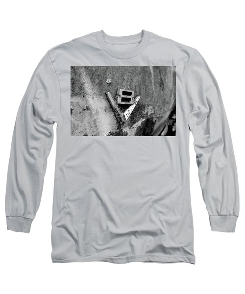 V8 Emblem Long Sleeve T-Shirt