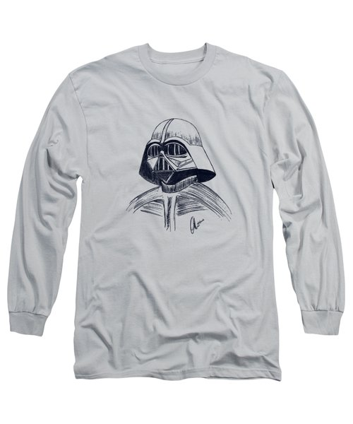Vader Sketch Long Sleeve T-Shirt