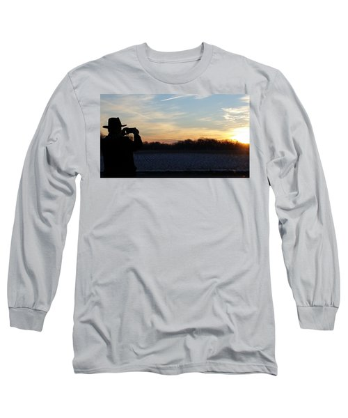 Valentines Sunrise Long Sleeve T-Shirt