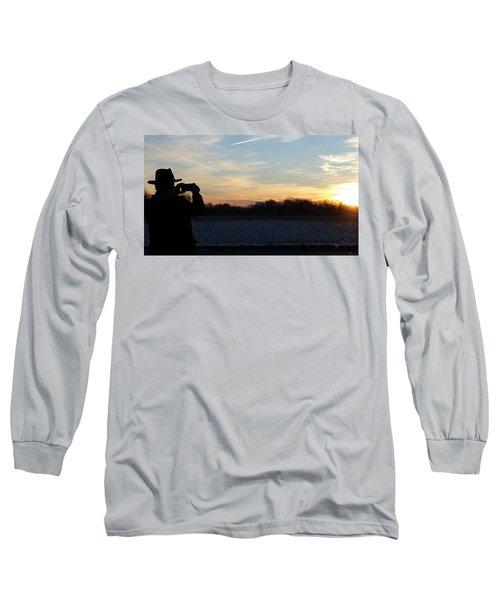 Valentines Sunrise Long Sleeve T-Shirt