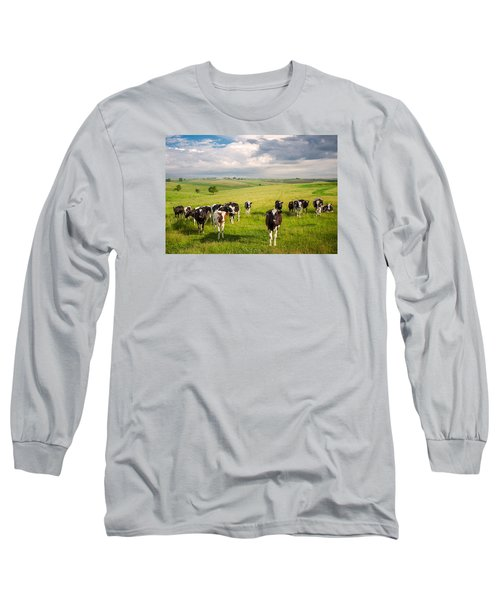Valley Of The Cows Long Sleeve T-Shirt