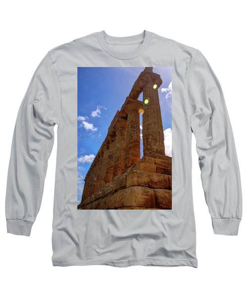 Valley Of The Temples Iv Long Sleeve T-Shirt by Patrick Boening