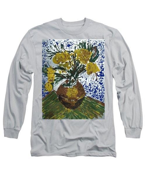 Van Gogh Long Sleeve T-Shirt by J R Seymour
