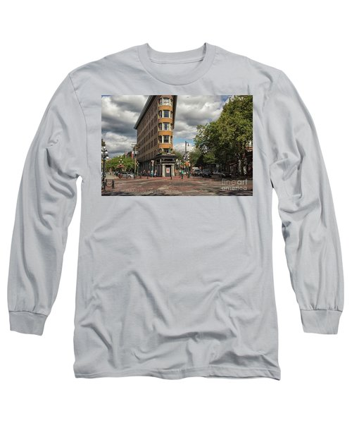 Vancouver City Life Long Sleeve T-Shirt by Patricia Hofmeester