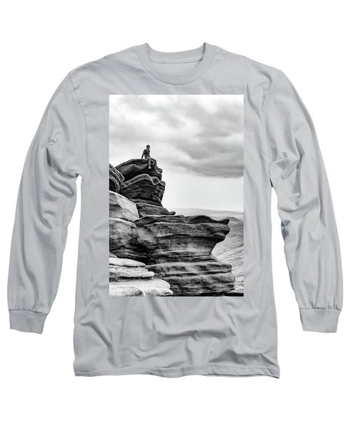 Long Sleeve T-Shirt featuring the photograph Vantage Point by Nick Bywater