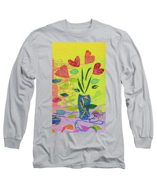 Vase Full Of Love Long Sleeve T-Shirt