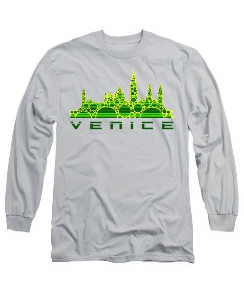 Venice Cool Skyline 3 Long Sleeve T-Shirt