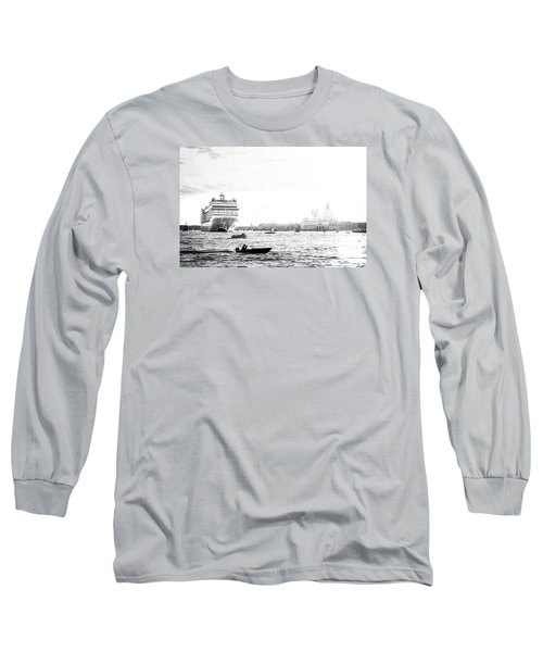 Venice In The Age Of Mass Tourism Long Sleeve T-Shirt
