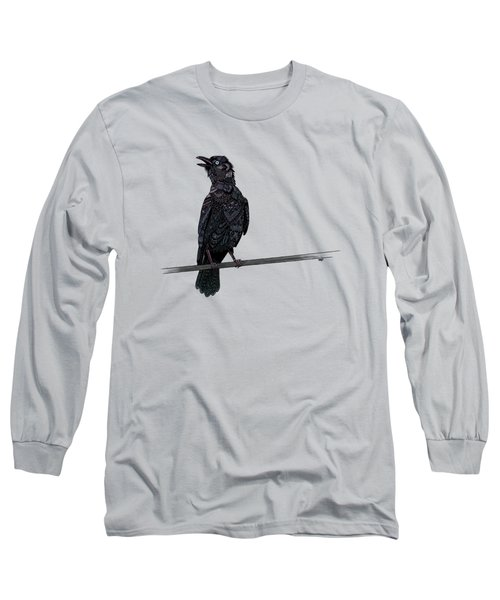 Verklempt Crow Long Sleeve T-Shirt