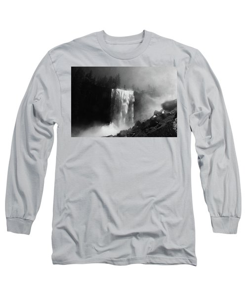 Vernal Fall And Mist Trail Long Sleeve T-Shirt