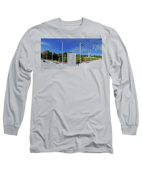 Veterans Freedom Park, Cary Nc. Long Sleeve T-Shirt