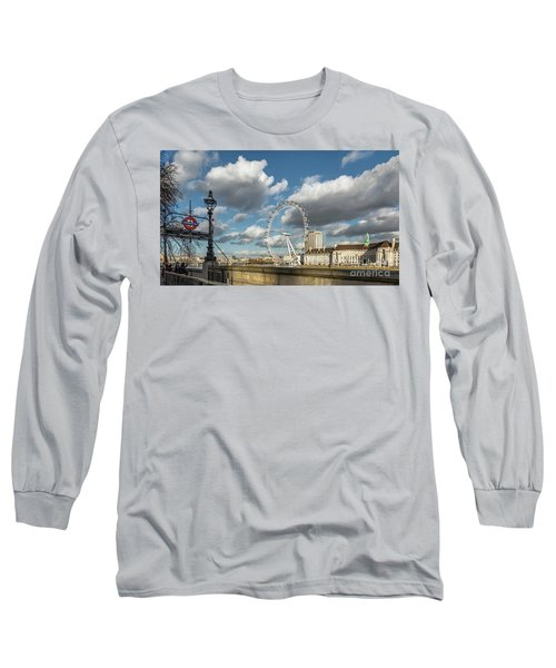 Victoria Embankment Long Sleeve T-Shirt by Adrian Evans