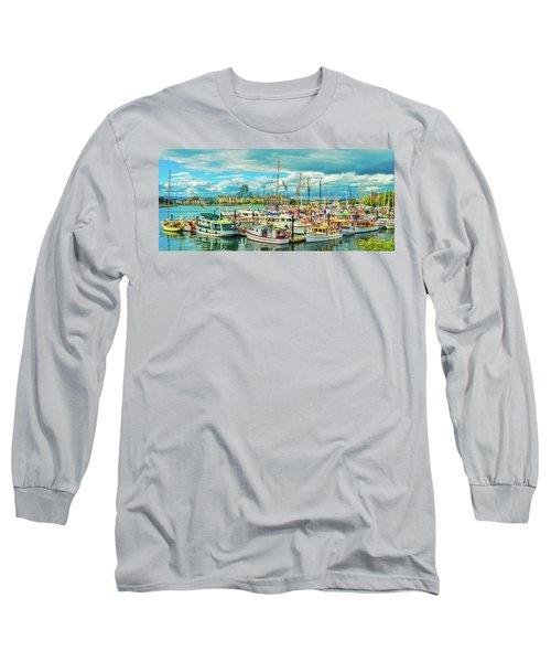 Victoria Harbor 2 Long Sleeve T-Shirt